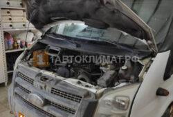 Установка предпускового подогревателя Бинар 5S DIESEL на промтоварный фургон Ford TRANSIT на ПТО ПУЛЬСАН