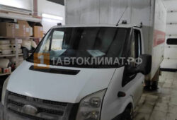 Установка предпускового подогревателя Бинар 5S DIESEL на промтоварный фургон Ford TRANSIT