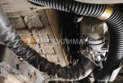Размещение предпускового подогревателя внизу моторного отсека