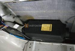 Монтаж отопителя под обшивкой багажника возле правого заднего крыла