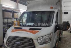 Установка на промтоварный автофургон Ford Transit предпускового подогревателя Бинар 5S DIESEL