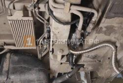 Монтаж выхлопной трубы подогревателя и его топливного насоса