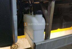 Монтаж топливного бака для отопителя