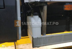 Монтаж топливного бака для отопителя за кабиной
