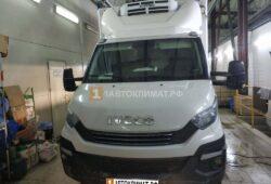 Установка в фургон рефрижератора Iveco Daily воздушного отопителя ПЛАНАР 44Д-12-GP ( 4 кВт)