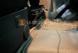 Закрытый дефлектор в кабине