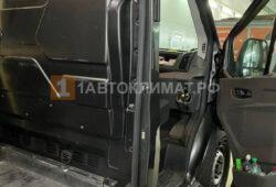 Закрывающийся дефлектор в фургоне микроавтобуса