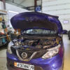 Установка бензинового предпускового подогревателя Бинар 5S на джип Nissan Rogue