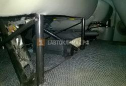 Установка воздушного отопителя Планар 2Д на Opel Vivaro