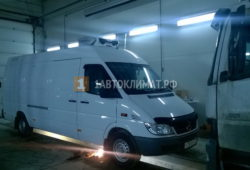 Установка отопителя Планар 2Д в фургон Mercedes Sprinter