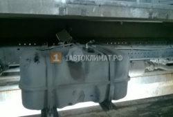 Установка воздушного отопителя Webasto в фургон на базе Isuzu