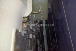 Монтаж воздушного отопителя Планар 2 кВт в кабину Хюндай H78