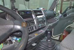 Монтаж отопителя Планар 2 кВт на грузовик Хино 300