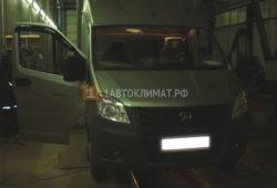 Монтаж автономного отопителя Планар 4ДМ2 в фургон Газель Некст