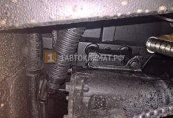Монтаж отопителя Планар 2Д-24 на автобус МАЗ
