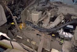 Установка подогревателя Теплостар 14ТС-10 на Хюндай HD78